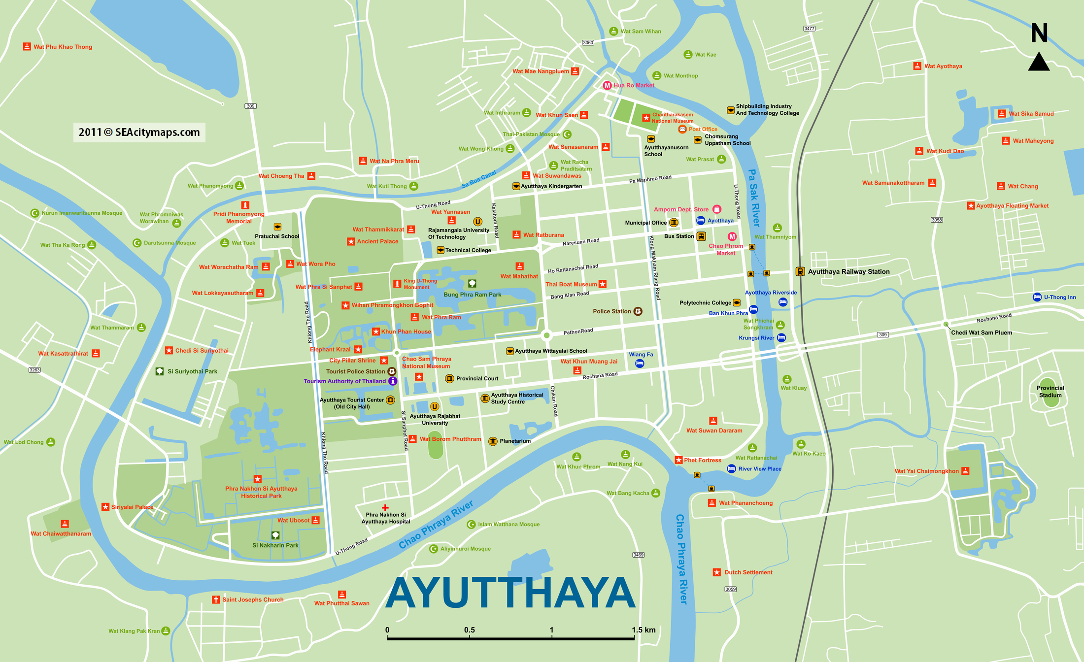 Ayutthaya: A day trip from Bangkok  Spin the Windrose