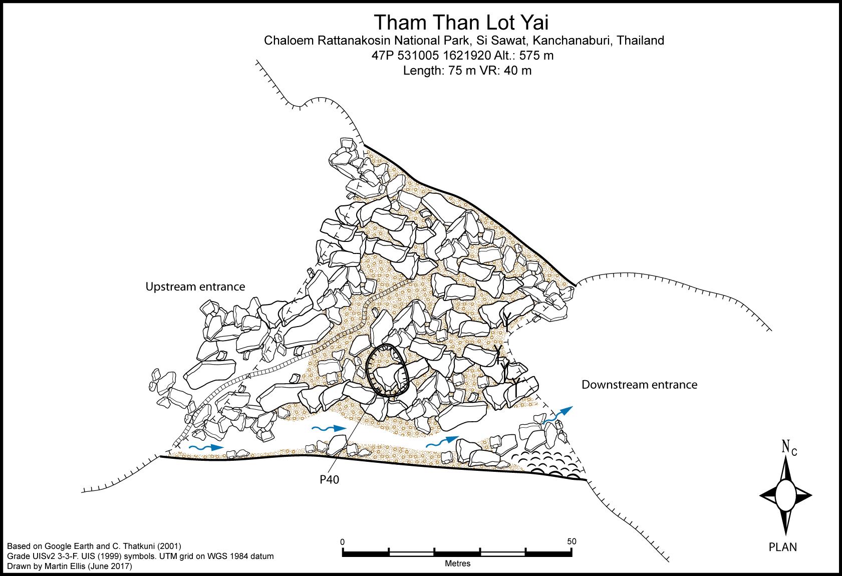 Tham Than Lot Yai Cave Kanchanaburi