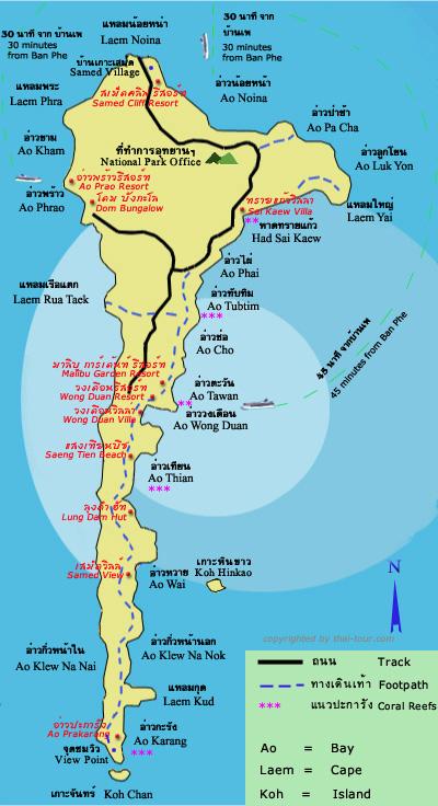 RAYONG maps