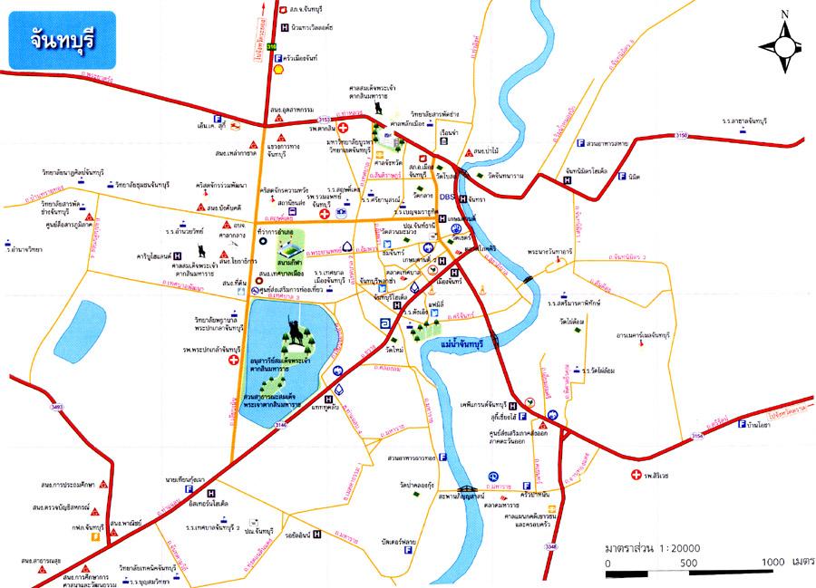 plan ville chanthaburi